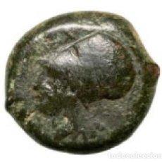 Monedas Grecia Antigua: 3218-GRECIA CLASICA-INTERESANTE BRONCE DE LA CIUDAD DE TETRAS EN SICILIA-AÑOS 344-336 AC. Lote 107028655