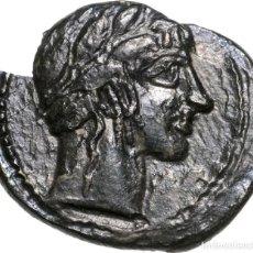 Monedas Grecia Antigua: 3203-GRECIA CLASICA-INTERESANTE BRONCE DE LA CIUDAD DE LEONTINOI EN SICILIA-AÑOS 450-440 BC. Lote 107036987