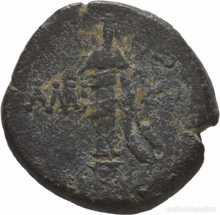 Monedas Grecia Antigua: GRECIA! AMISOS! PONTOS AMISOS! BRONCE! 85-65, Mitrídates VI llamado Eupator MBC- - Foto 2 - 107239867