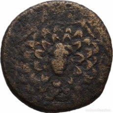 Monedas Grecia Antigua: GRECIA! PONTOS! AMISOS! BRONCE AE! 85-65 AC, MITRÍDATES VI LLAMADO EUPATOR MBC-. Lote 107293047