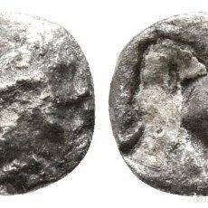 Monedas Grecia Antigua: GRECIA! HEMIOBOL DE PLATA! 0,49 G / 7 MM. Lote 107858247