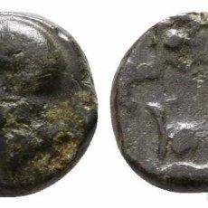 Monedas Grecia Antigua: GRECIA! MISIA! PERGAMO! ATENEA / TORO 0,80 G / 8 MM BRONCE MBC. Lote 107863427