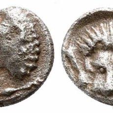 Monedas Grecia Antigua: GRECIA! HEMIOBOL DE PLATA! LEON! CARIA HECATOMNO 0,49 G / 8 MM EBC-. Lote 108027979