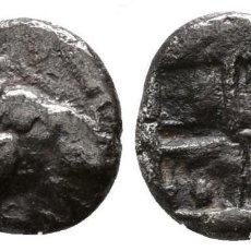 Monedas Grecia Antigua: GRECIA! TROADE CEBRÉN OBOL DE PLATA CARNERO / ARIES 0,95 G / 10 MM MBC+. Lote 108150323