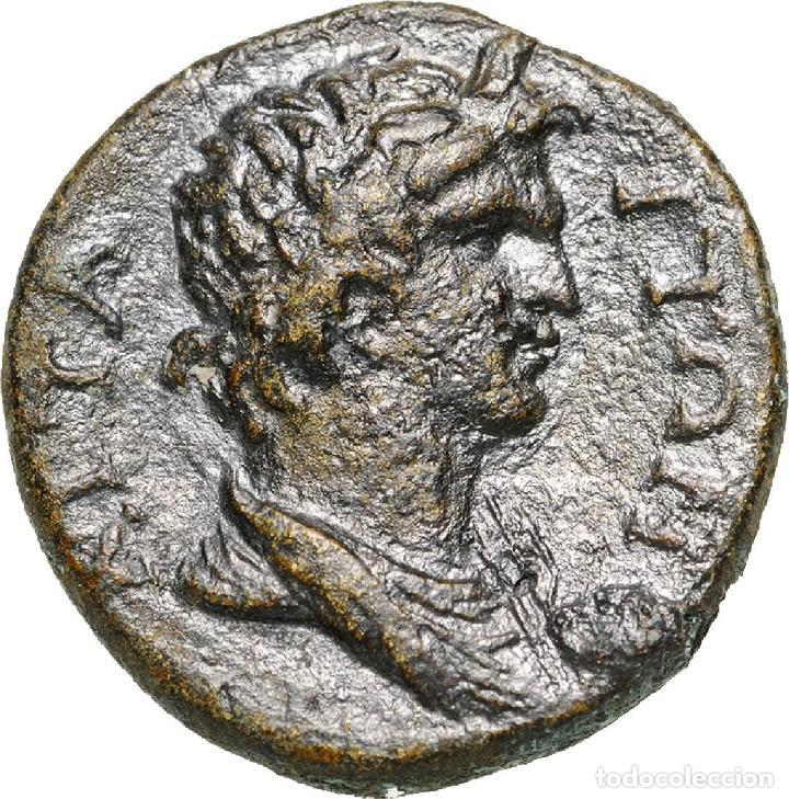 3303-GRECIA-BRONCE DE TRAJANO EMITIDA EN LA CIUDAD DE MYSIA ATTAIA-AÑOS 98-117 AD-ROMA PROVINCIAL (Numismática - Periodo Antiguo - Grecia Antigua)