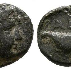 Monedas Grecia Antigua: GRECIA! TROAS ABIDOS (ABYDOS) APOLO / AGUILA 1,19 G / 10 MM MBC+. Lote 109361839