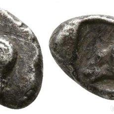 Monedas Grecia Antigua: GRECIA! TRÓADE O TROAS! CABIROS! DIOBOL DE PLATA! APOLO / CARNERO 1,09 G / 10 MM MBC+. Lote 182857692