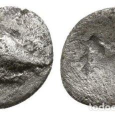 Monedas Grecia Antigua: GRECIA! PELOPONESO! (SIKYONIA) SICYON! HEMIOBOL DE PLATA! PALOMA! 0,38 G / 8 MM ESCASA MBC. Lote 110493483