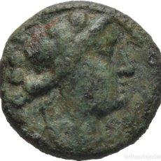 Monedas Grecia Antigua: GRECIA! MAGNA! LUCANIA! PAESTUM! PRIMERA GUERRA PÚNICA 218-201 AC! Æ TRIENS! MBC. Lote 115630639