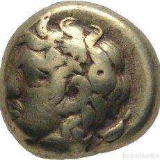Monedas Grecia Antigua: IONIA. PHOKAIA 478-387 AC ELECTRO (ELECTRUM HEKTE)! 9 MM // 2,45 G. EBC ORO MUY RARO. SÓLO EXISTEN 2. Lote 116876043