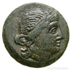 Monedas Grecia Antigua: 3176-GRECIA -INTERESANTE BRONCE-THRACE-MESEMBRIA-AE ATHENA PROMACHOS-(23 MM,--7,91 GRS.. Lote 122139207