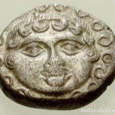 Monedas Grecia Antigua: 252-GRECIA CLASICA -DRACMA DE PLATA DE LA CIUDAD DE APOLLONIA EN THRACE-400-350 BC (14 MM; 3,32 G.),. Lote 122180823