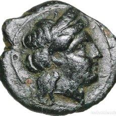 Monedas Grecia Antigua: 3609-GRECIA-INTERESANTE MONEDA EN BRONCE DE LA CIUDAD DE PRIAPOS EN MYSIA---3º SIGLO . Lote 122283503