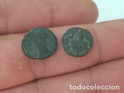 LOTE DOS BONITAS MONEDAS GRIEGAS DE BRONCE. (Numismática - Periodo Antiguo - Grecia Antigua)