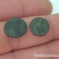 Monedas Grecia Antigua: LOTE DOS BONITAS MONEDAS GRIEGAS DE BRONCE.. Lote 130871144