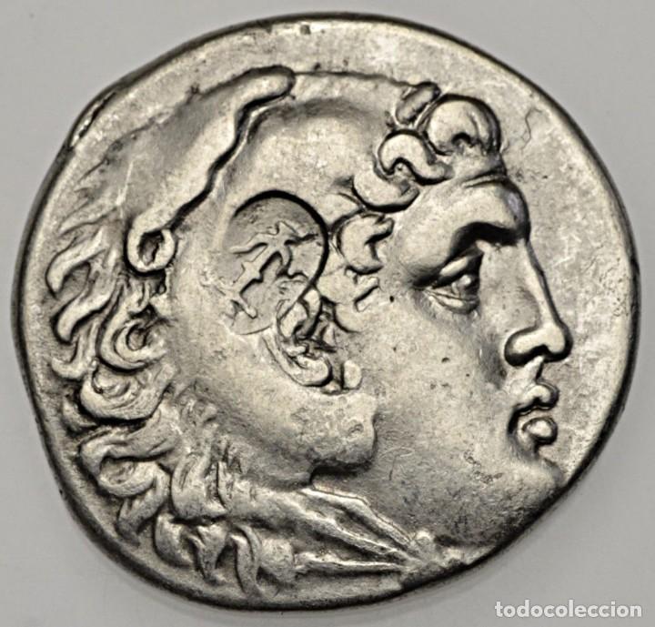 TETRADRACMA DE PLATA DEL GRAN ALEJANDRO MAGNO 221-188 A.C. CECA DE PERGE (Numismática - Periodo Antiguo - Grecia Antigua)