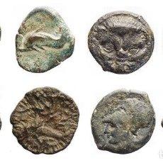 Monedas Grecia Antigua: ANTIGÜEDAD GRIEGA - LOTE DE 4 EJEMPLARES.. Lote 139903058