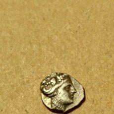 Monedas Grecia Antigua: BONITO TETROBOLO DE HISTIAIA (EUBOIA) SIGLO III-II A.C. NINFA. Lote 141302930