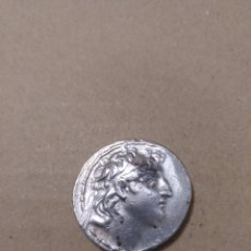 Monedas Grecia Antigua: TETRADRACMA ANTIOCO VII EUERGETES (138-129 A.C.) IMPERIO SELÉUCIDA PALAS CON VICTORIA. Lote 153463348