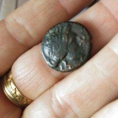 Monedas Grecia Antigua: MONEDA GRIEGA 196-146 AC AE 22 LIGA TESALIA 7,25 GR APOLO Y ATENEA CERTIFICADO AUTENTICIDAD GRECIA. Lote 153546672