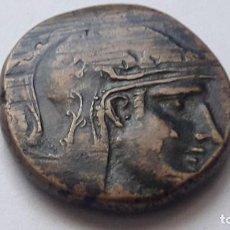 Monedas Grecia Antigua: PONTOS.AMISOS.MITHRADATES VI, 85-65 AC.AE PERSEO DE PIE,CON CABEZA DE MEDUSA (MONEDA EXCASA). Lote 155476042