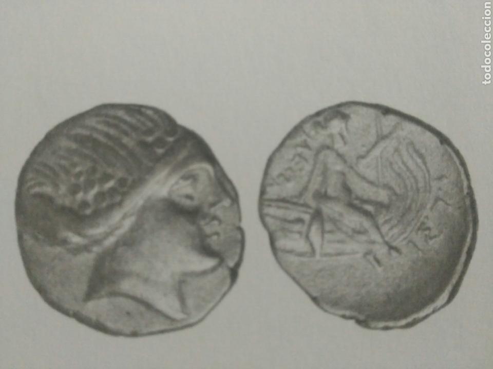 GRECIA ANTIGUA TETROBOLO 197-146 HISTAIA EUBEA NINFA RACIMOS PROA NAVE 1,48 GR PLATA MBC CERTIFICADA (Numismática - Periodo Antiguo - Grecia Antigua)
