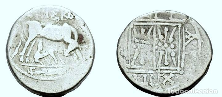 DRACMA APOLLONIA Y DYRRHACHIUM-SILVER. (Numismática - Periodo Antiguo - Grecia Antigua)
