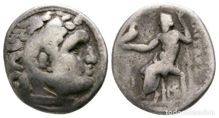 ALEJANDRO III MAGNO (EL GRANDE). DRACMA. 4,12G. / 16MM. BC+ (Numismática - Periodo Antiguo - Grecia Antigua)