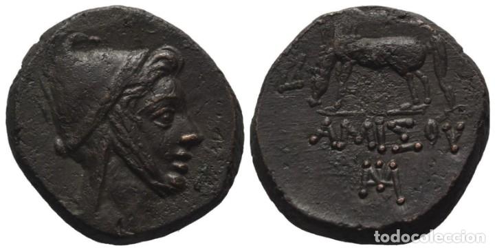PONTOS AMISOS. AE (85-65 AC). TIEMPO DE MITRÍDATES VI EUPATOR. EBC (Numismática - Periodo Antiguo - Grecia Antigua)