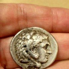 Monedas Grecia Antigua: TETRADRACMA ALEJANDRO III MAGNO (336-323 A.C.) BONITO BUSTO.. Lote 179157483