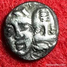 Monedas Grecia Antigua: ÓBOLO DE ISTROS (TRACIA) - 400-350 A.C - 0,97G AG - MBC+ - MUY RARA EN ESA CONSERVACIÓN. Lote 180006930
