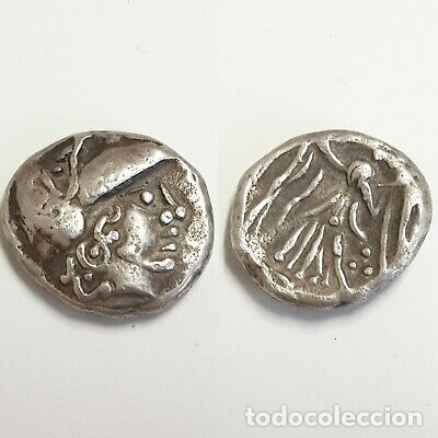 DRACMA GRIEGO PLATA. (Numismática - Periodo Antiguo - Grecia Antigua)