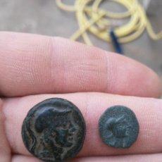Monedas Grecia Antigua: LOTE DE DOS MONEDAS, GRIEGA Y MASSALIA MUY BONITAS.. Lote 182111612