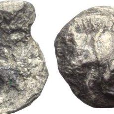 Monedas Grecia Antigua: GRECIA! HEMIOBOL DE PLATA! MYSIA KYZIKOS (MYSIEN KYZIKOS)! MBC. Lote 182328466