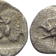 Monedas Grecia Antigua: GRECIA! HEMIOBOL DE PLATA! MYSIA KYZIKOS (MYSIEN KYZIKOS)! MBC+. Lote 182328768