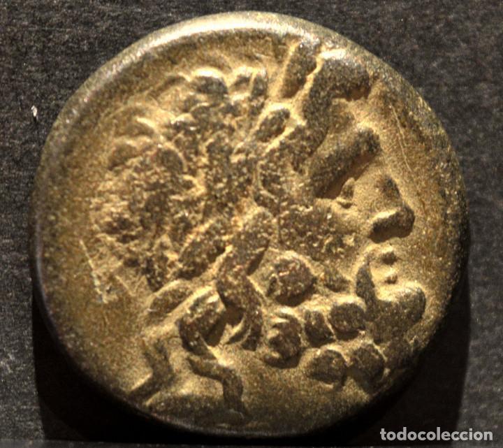 MONEDA BRONCE GRECIA PHRYGIA APAMEIA AE 22 (133-48 A.C.) ANDRONIKOS Y ALKION, MAGISTRADOS. (Numismática - Periodo Antiguo - Grecia Antigua)