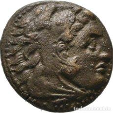 Monedas Grecia Antigua: REINO DE MACEDONIA - FELIPE V (221-179 A. C.) - 5,32 GRAMOS - FELIPE A CABALLO A LA DERECHA. Lote 187134012