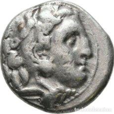 Monedas Grecia Antigua: GRECIA ANTIGUA - IMPERIO MACEDONIO. ALEJANDRO III MAGNO (336-323 A.C.) A R DRACMA - 4,24 GR. PLATA. Lote 187142392