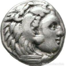 Monedas Grecia Antigua: GRECIA ANTIGUA - IMPERIO MACEDONIO. ALEJANDRO III MAGNO (336-323 A.C.) A R DRACMA - 4,15 GR. PLATA. Lote 187142936