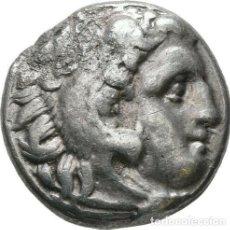 Monedas Grecia Antigua: GRECIA ANTIGUA - IMPERIO MACEDONIO. ALEJANDRO III MAGNO (336-323 A.C.) A R DRACMA - 4,05 GR. PLATA. Lote 187143490