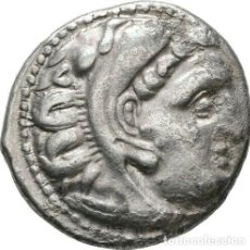 Monedas Grecia Antigua: GRECIA ANTIGUA - IMPERIO MACEDONIO. ALEJANDRO III MAGNO (336-323 A.C.) A R DRACMA - 4,15 GR. PLATA. Lote 187144295
