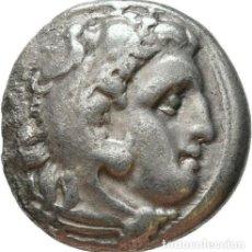 Monedas Grecia Antigua: GRECIA ANTIGUA - IMPERIO MACEDONIO. ALEJANDRO III MAGNO (336-323 A.C.) A R DRACMA - 4,09 GR. PLATA. Lote 187144598