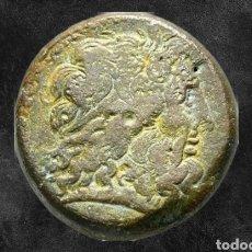 Monedas Grecia Antigua: EGYPT ALEJANDRÍA PTOLEMY III TETROBOL AE 44,52 G. Lote 187246636