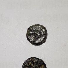 Monedas Grecia Antigua: LOTE DE 2 BRONCES GRIEGOS. Lote 188863216
