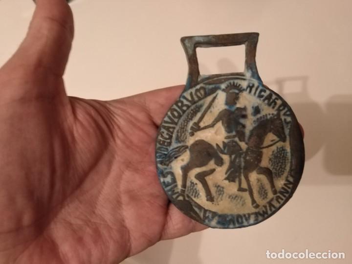 Monedas Grecia Antigua: GRAN MEDALLON ROMANO BRONCE CABALLERÍA CON INSCRIPCIÓN. LEGIONARIO? - Foto 3 - 190557785