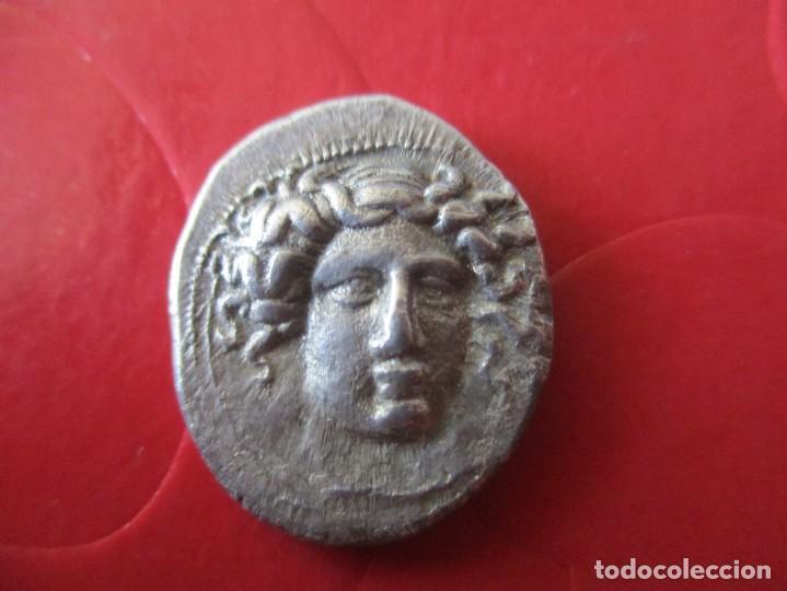 DRACMA DE THESSALIA. LARISSA 361/53 AC. #SG (Numismática - Periodo Antiguo - Grecia Antigua)
