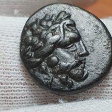 Monedas Grecia Antigua: MISIA PERGAMO AÑO 133 A,C MUY ESCASA CON LEYENDAS COMPLETAS. Lote 194984765