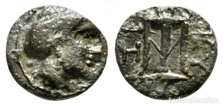 MYSIA CICICO KORE - TRIPODE 1,28 G / 11 MM MBC+ (Numismática - Periodo Antiguo - Grecia Antigua)