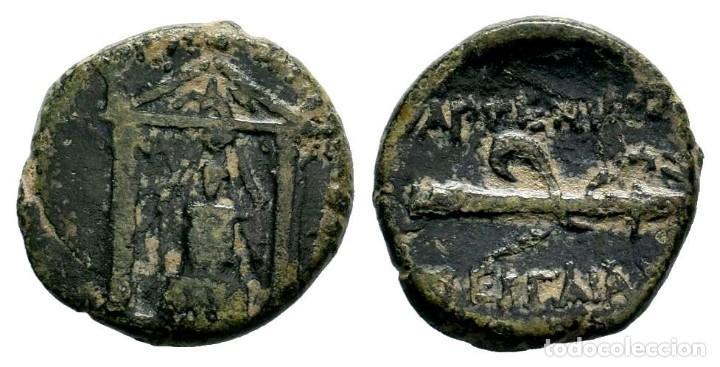 PAMFILIA. PAMPHYLIA. PERGE. AE (III SIGLO A. C.). AE. 3,69 GR - 16,75 MM. EBC- (Numismática - Periodo Antiguo - Grecia Antigua)