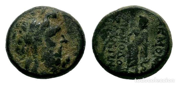 SELEUCIA PIERIA. SELEUKEIA PIERIA. AE (I SIGLO A. C.). 4,05 GR - 15 MM. MBC (Numismática - Periodo Antiguo - Grecia Antigua)